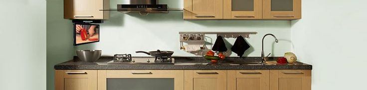 Small TVs for Kitchens #kitchen #carcases http://kitchen.remmont.com/small-tvs-for-kitchens-kitchen-carcases/  #kitchen tv # Find your perfect Kitchen TV, whether you want it on show and in clear view for all to see, or the ability to flip up and flipdown when not in use. They are easily fitted under your kitchen cabinet, recessed into walls, or popped up from your worktop, in a range of...