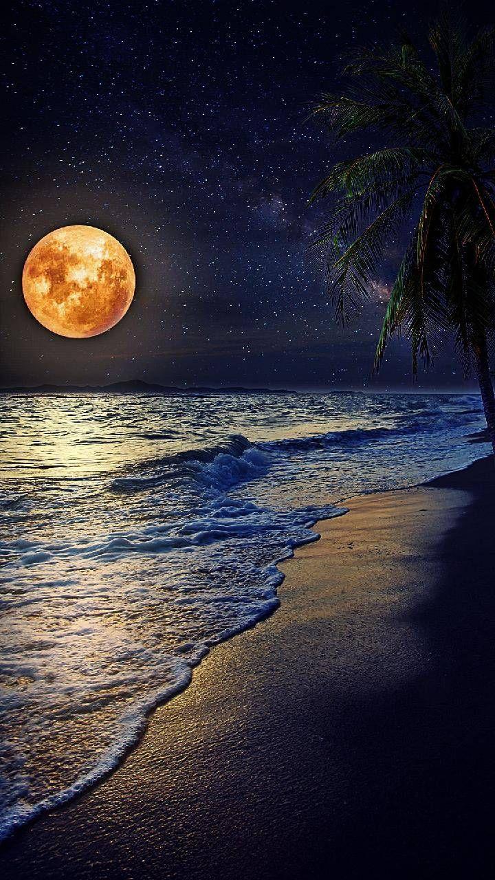 Sea Wallpaper By Techinon 10 Free On Zedge Nature Photography Beautiful Moon Moon Photography