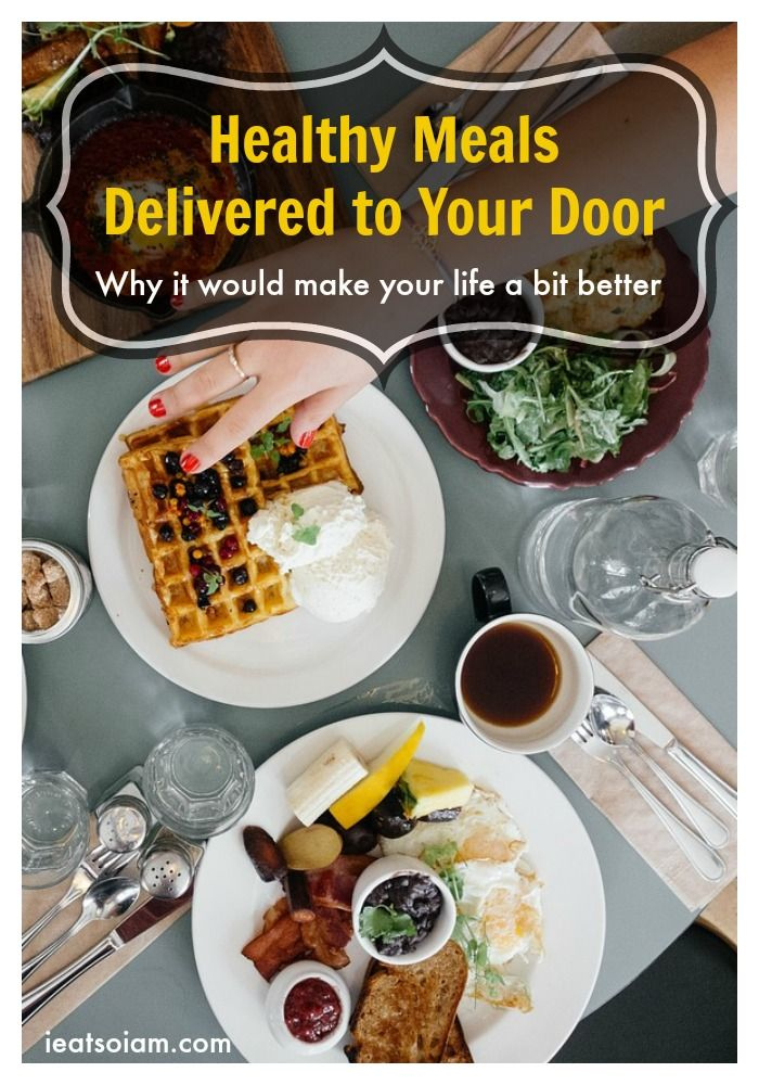 Healthy Meals Delivered to Your Door. This answers why it would make your life a bit better.