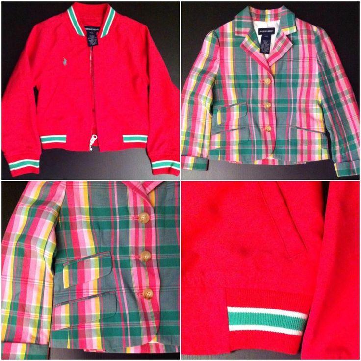 LOTS Authentic Ralph Lauren Amazing Jacket Kids -- Size 4/4T #RalphLaurenKids #BasicJacket #DressyEverydayHoliday