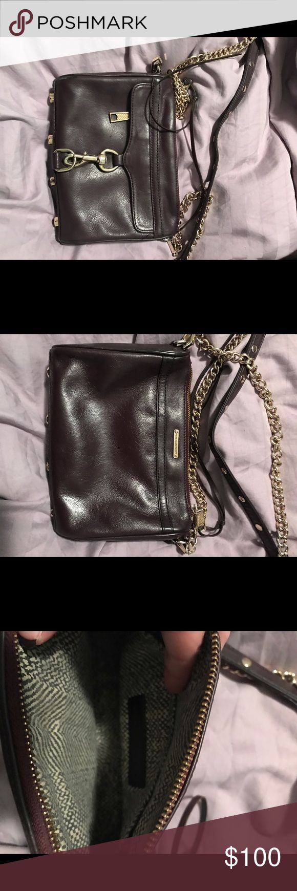 Rebecca minkoff mini Mac burgundy 100% authentic Rebecca Minkoff Bags Crossbody Bags