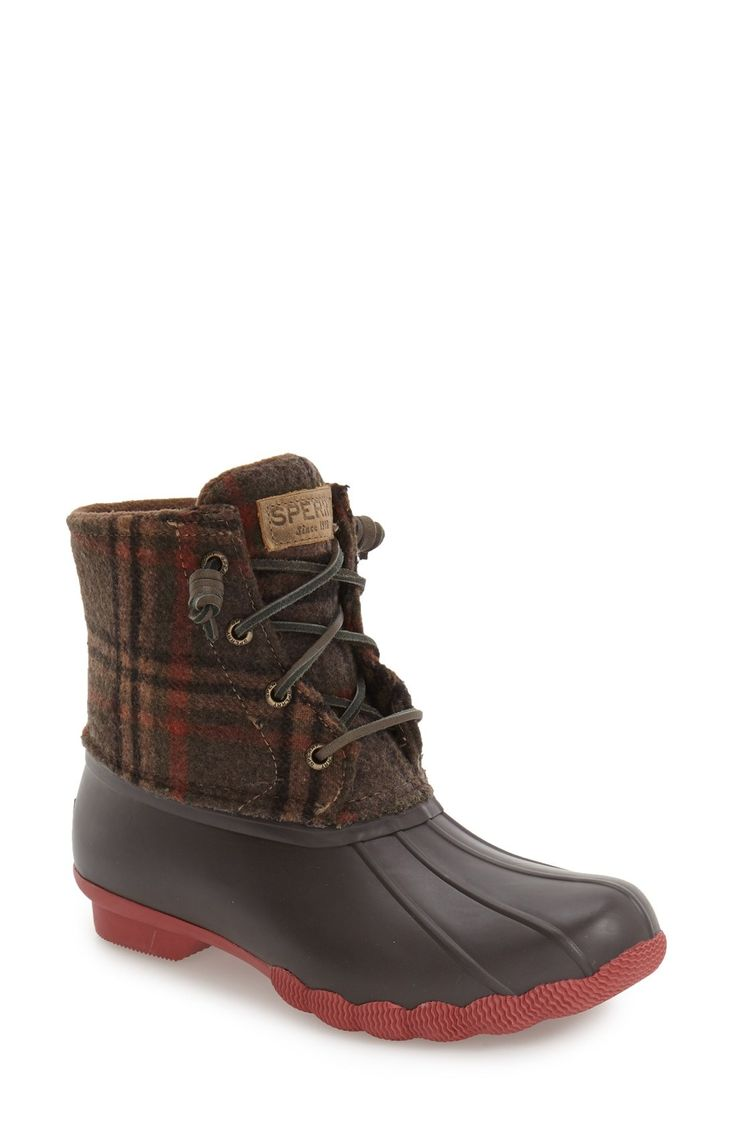 Sperry 'Saltwater' Duck Boot (Women) available at #Nordstrom