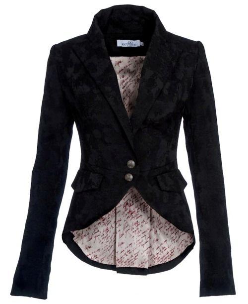 Cute blazer...