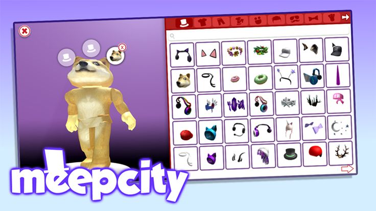 Check out [AVATAR EDITOR] MeepCity. It's one of the millions of unique, user-generated 3D experiences created on Roblox.  The game that's Powering Imagination™ Please favorite and thumbs up the game if you like it!   Follow me on Twitter @alexnewtron for news and updates about Meep City!  MeepCity Staff -  @alexnewtron - Director and Programmer @TrainedDoorman - Creative Director @Celestaphone - Music Composer @KrixNoz (KrixYaz) - Builder @HolidayPwner - Builder @ejobwastaken (ejo...