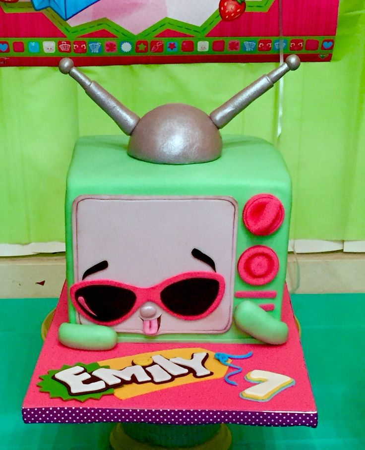 Shopkins cake shopkins party