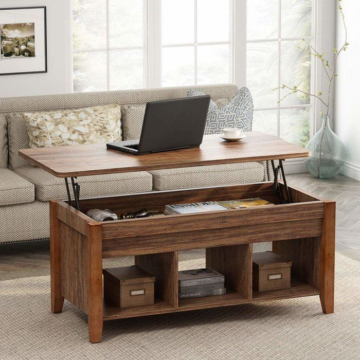Mosqueda Lift Top Coffee Table With Storage In 2020 Coffee Table