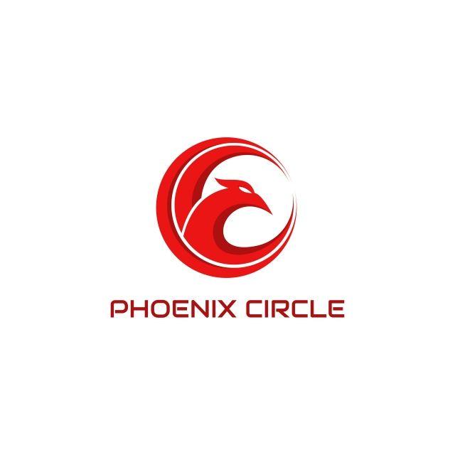 Phoenix Circle Logo Vector Vector And Png Circle Logos Vector Logo Bird Logo Design