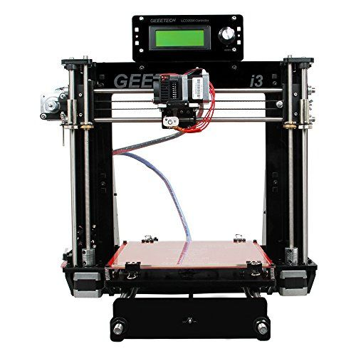 Great KKmoon Geeetech Acrylic Prusa I Pro B Unassembled D Printer with mm Nozzle DIY Kit