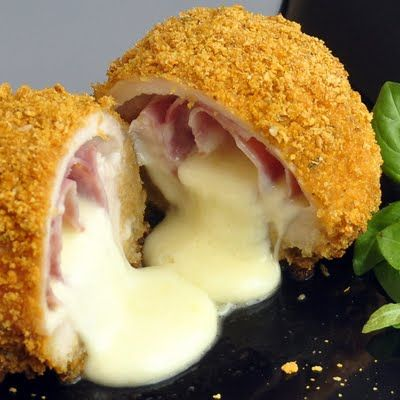 Baked Italian Chicken Cordon Bleu - Rock Recipes -The Best Food & Photos from my St. John's, Newfoundland Kitchen.