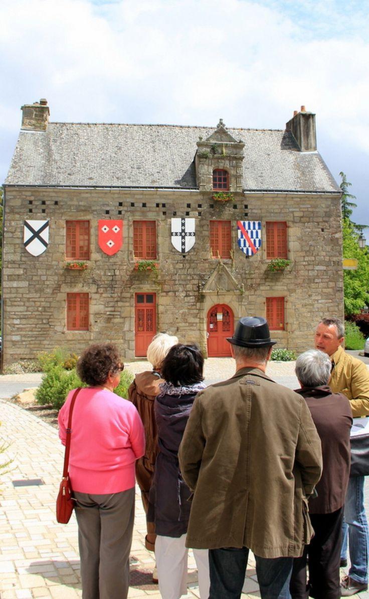 Maisons Renaissance à Noyal-Muzillac dans le Morbihan (Bretagne)