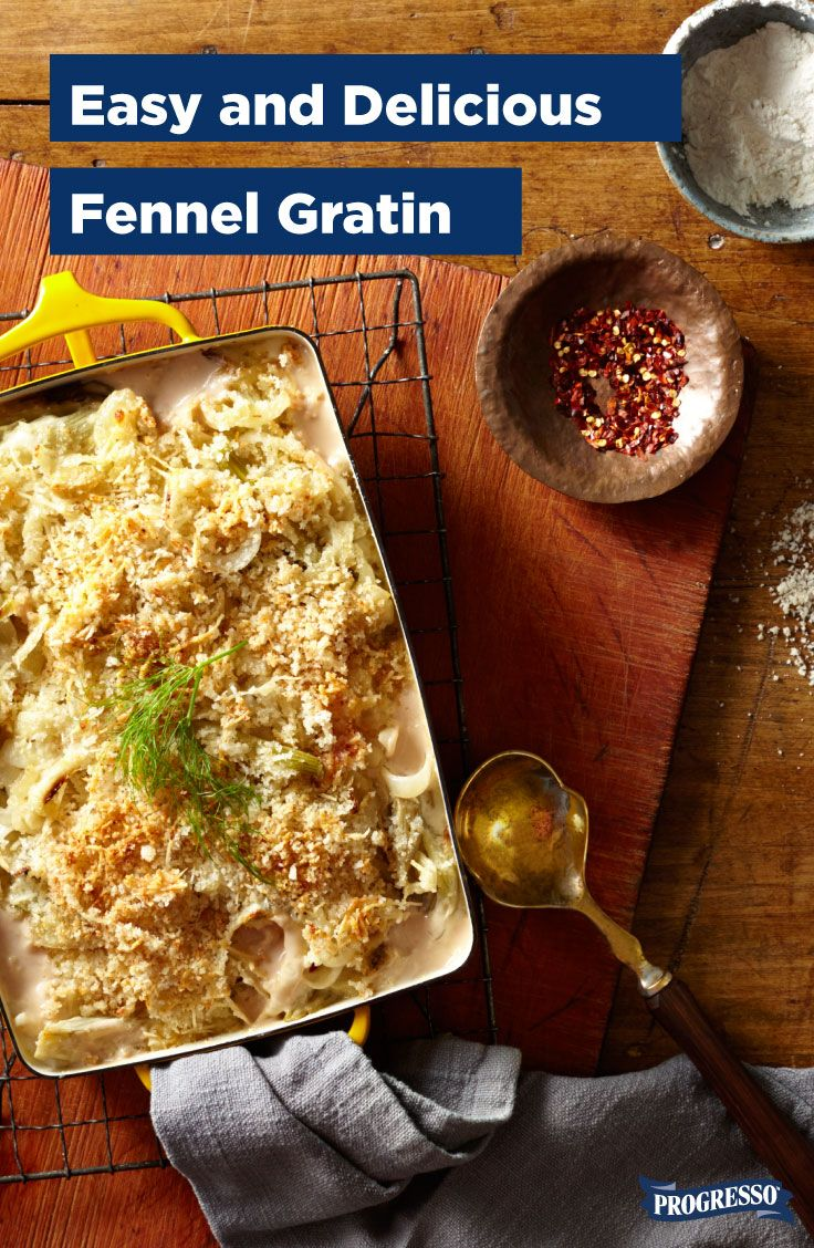 This rich, cheesy, nutty fennel gratin is peak comfort food. Like ...