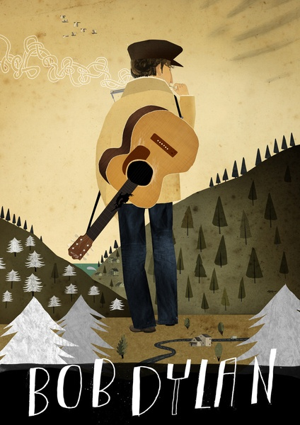 Bob Dylan Art Print, must buy ASAP