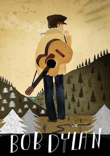 Bob Dylan Art Print, must buy ASAP