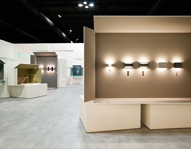 FontanaArte launched some exciting new lighting products at Euroluce at the Milan Design Fair 2015, grabbing the attention of their audience.