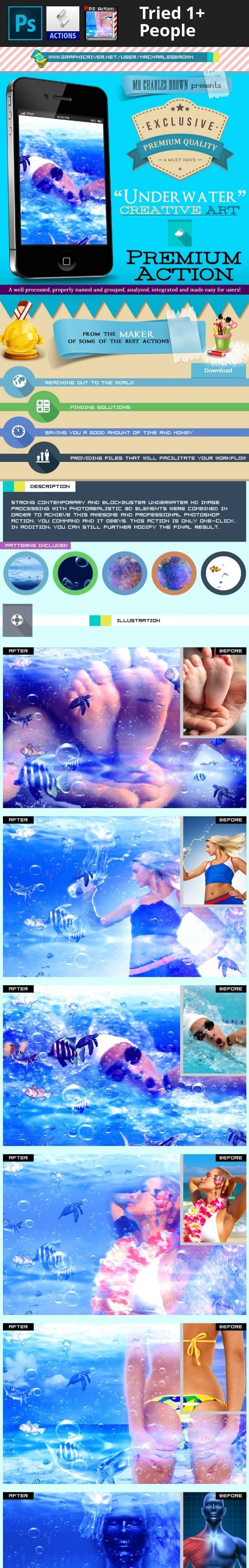 aqua, contemporary, Creative Underwater Art, epic, Graphicriver Image Action, Graphicriver image effects, HD color, hd photos, HDR legendary, high definition, high dynamic imaging, non-destructive actions, photo effects, photoshop add-on, photoshop image action, Photoshop Image effects, premium photoshop actions, underwater image effect, vivid images, water, water proof camera    From the Maker of:  Advance Flame Hand Drawing   PACKAGE DETAILS:  Package name: Creative Underwater Art…