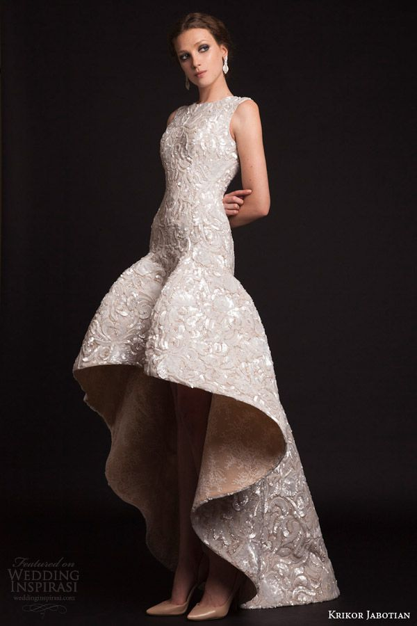 Krikor Jabotian Spring 2015 Dresses — The Last Spring Collection | Wedding Inspirasi