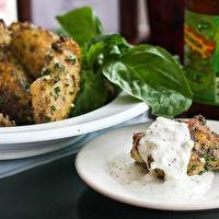 Baked Parmesan Garlic Chicken Wings by Rebecca Newbill