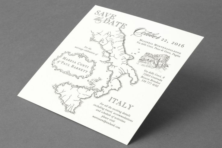 Roman holiday: http://www.stylemepretty.com/2015/04/13/20-chic-save-the-dates/