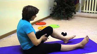Остеопатия: варикозная болезнь, застой крови, лимфы в ногах, тазу, печени - гимнастика от остеопата - YouTube