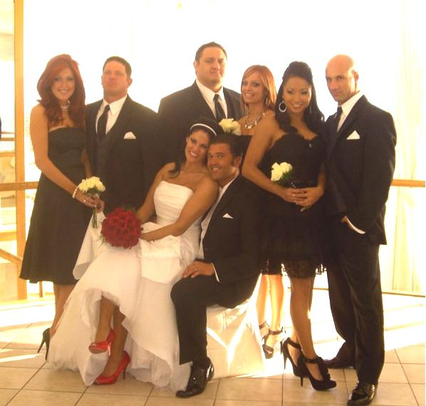 The wedding of Tracey Brookshaw (Traci Brooks) & Frank Gerdelman (Kazarian) on January 7, 2010. Their wedding party consisted of Gail Kim, Christy Hemme, So Cal Val, AJ Styles, Christopher Daniels, & Samoa Joe