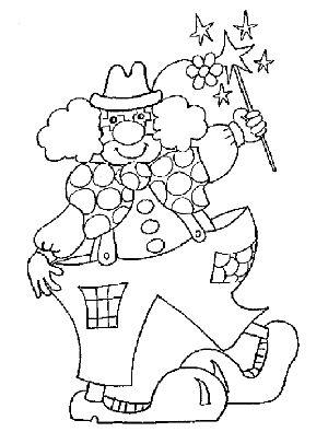 Kleurplaten Clown Peuters.Clown Kleurplaat Peuter Christoffelschool So Susan Spekschoor