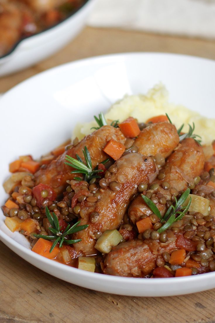 Turn boring snags into a hearty winter dinner winner with this delicious Italian Sausage Stew.