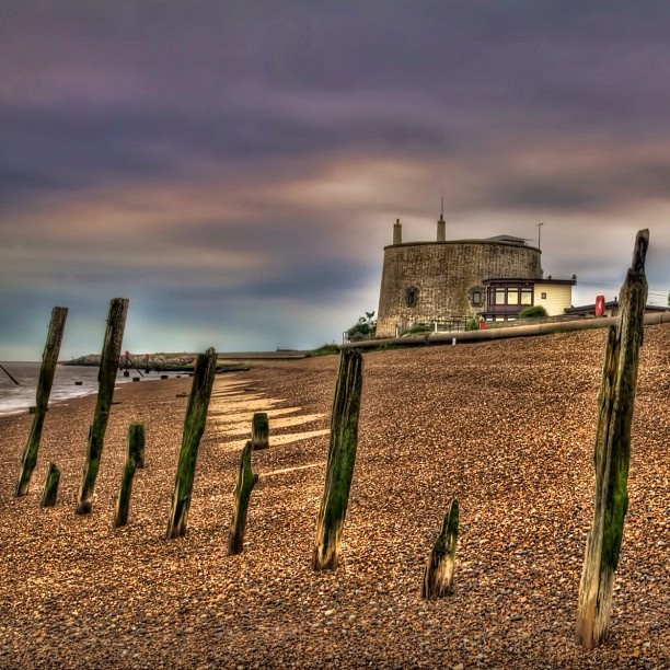 old felixstowe beach my own work #arthakker #hdr #photographty