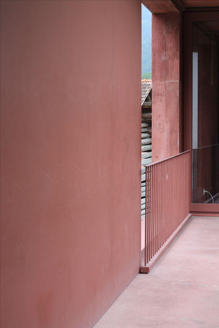 Valerio Olgiati_Red Concrete_Atelier Bardill_Scharans_Graubünden_Swiss