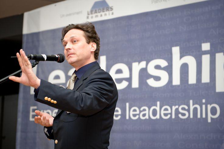 George Ivascu la Evenimentul de lansare LEADERS School editia a 5-a, 17 martie 2010 #leadersschool #romania . Foto: Alex Spineanu