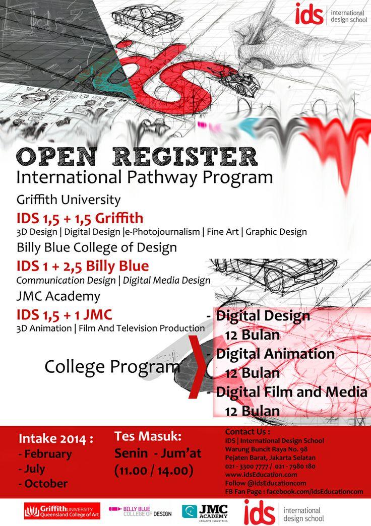"IDS   International Design School.  OPEN REGISTER ""International Pathway Program"" & ""College Program"" 2014. #StudyInAustralia #InternationalPathwayProgram #College  www.idseducation.com"