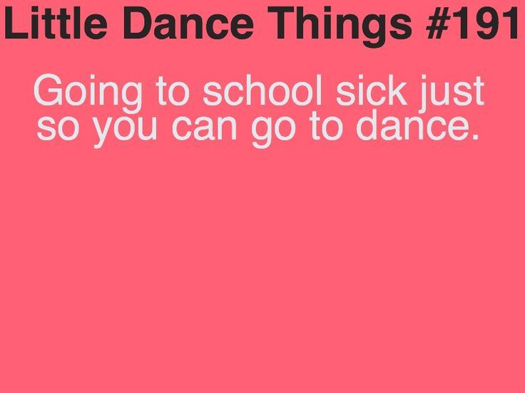 I do this all the time. I have no energy at school and then go full out at dance. Missing dance is not an option….