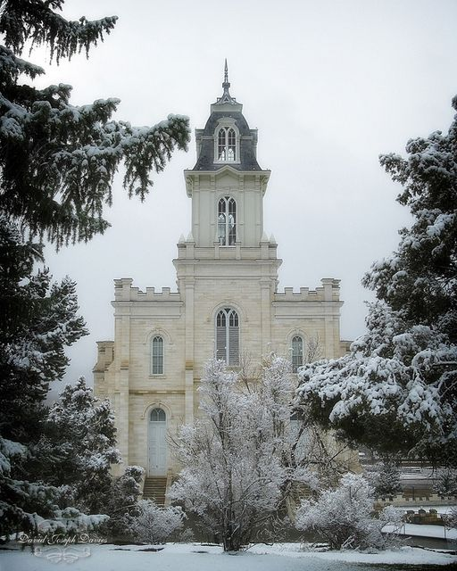 My temple :-) My grandparents were sealed here, my parents, I was and so was my sister... Love this