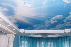 Натяжной потолок. Подари ребенку небо!. Отделочные работы, Украина, Запорожье и область, Запорожье, Жовтневый, цена