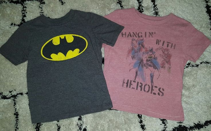 2 Superman Batman The Flash boys 4T t-shirts Love & Art Old Navy gray pink | Clothing, Shoes & Accessories, Baby & Toddler Clothing, Boys' Clothing (Newborn-5T) | eBay!