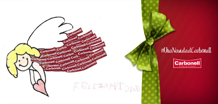María, con solo 5 añitos, os quiere desear a todos una Feliz Navidad… ¡Por una #NavidadLlenadeSabor! #Carbonell #Navidad #Sabor #Christmas #Aceite