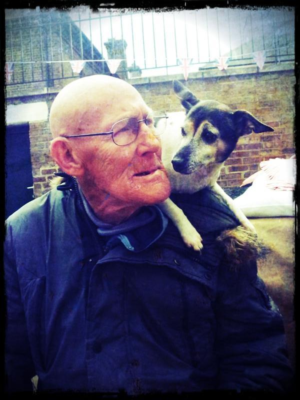 Bob & Fred, mates forever, stallholders Portobello Market