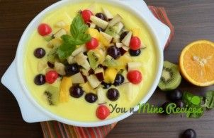 Indian Fruit Custard Recipe looks to be amazingly delicious and colorful. It is healthy dessert.