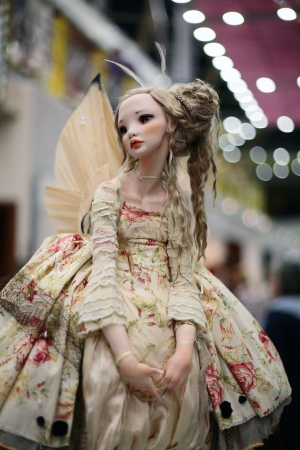 [Image] [image] 88 pictures from the tenth Salon dolls Tishinka. who have not been, I recommend it.) exhibition until Sunday evening beautiful works much fun garbage too in bulk.) [from ... - chercheto-mobile