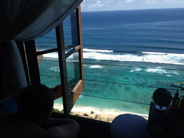 The Karma Kandara beach club and spa in Bali, Indonesia. A great spa with incredible views.