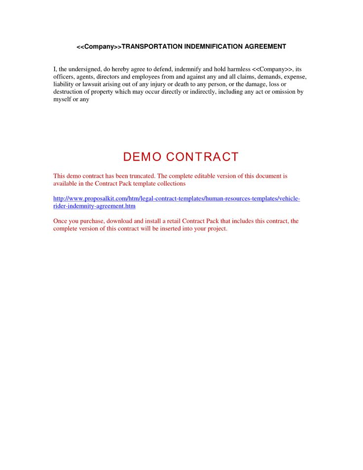 70 best Human Resources Letters, Forms and Policies images on - indemnity form template