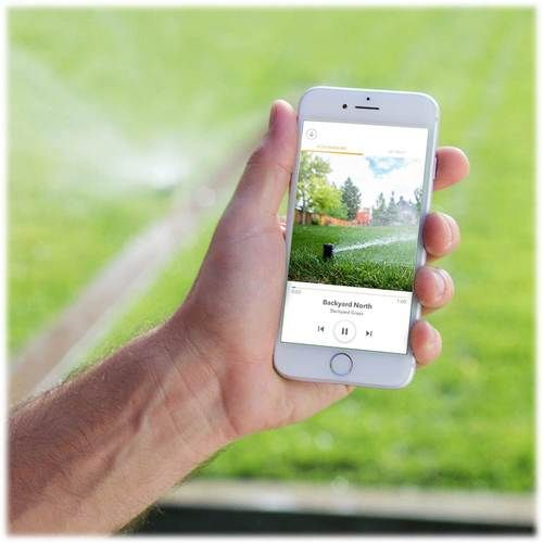 Rachio – 8-zone 2nd Generation Smart Sprinkler Controller – White – Products