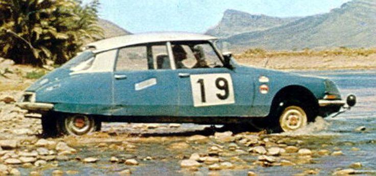 Maroc 1969 - Ogier Jean-Claude - Veron Michèle icon Citroën DS 21