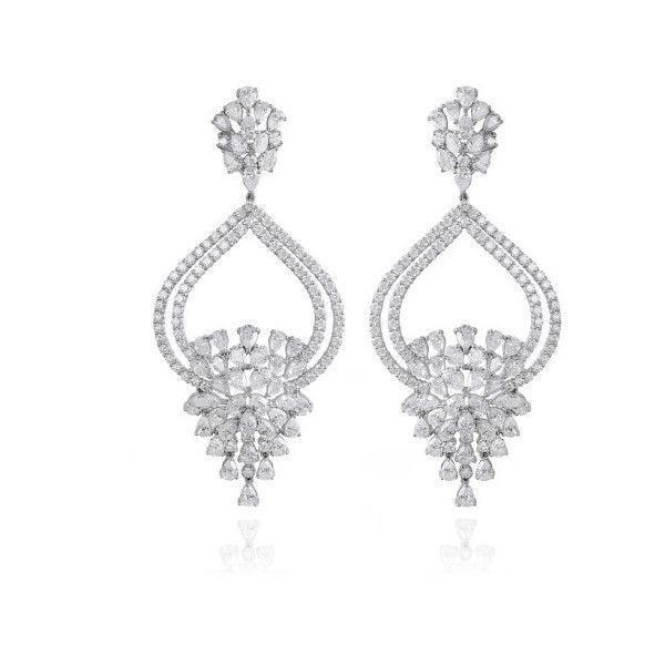 Farah Khan Fine Jewelry Starburst Earrings