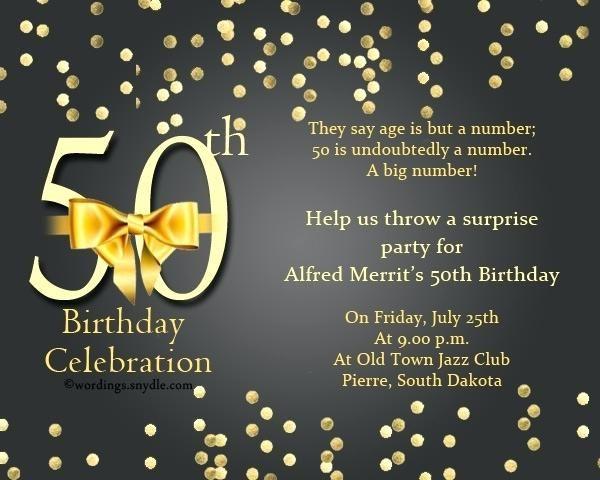 50th Birthday Invitation Ideas New 50th Birthday Invitation Ideas 97 Birthday Party Invitation Wording Birthday Invitation Templates 50th Birthday Invitations