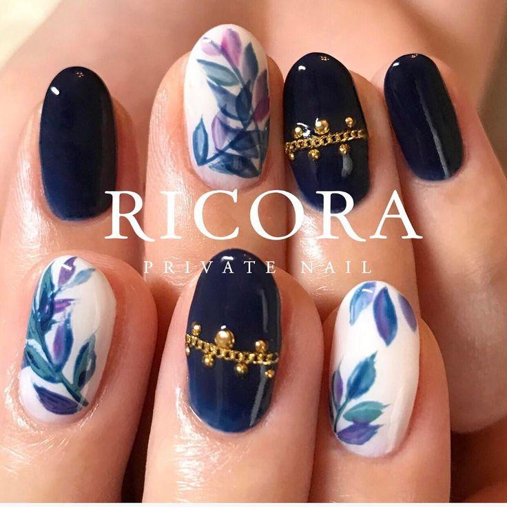 綱島ネイルサロン(RICORA) on Instagram \u201cお客様のお持ち込みデザイン♪