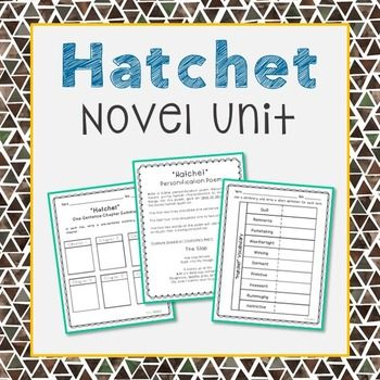 book report for hatchet My husband remembered enjoying this book from his childhood and wanted to share with our own children (8 year old and 6 year old twins) he read the book to them over the course of a couple of weeks and they loved it.