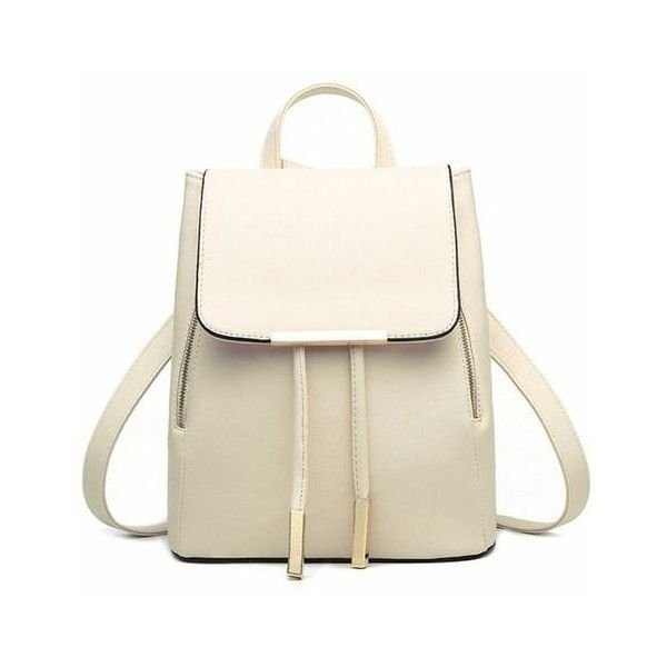 White ❤ liked on Polyvore featuring bags, backpacks, back to school, backpack, girls, school, vintage travel bag, travel rucksack, travel backpack and backpack bags