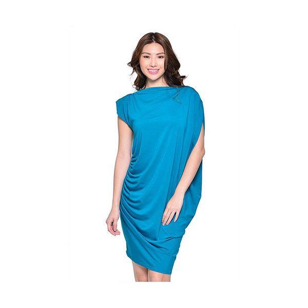 Georgina Dress- Turquoise - All My DIBS - 1