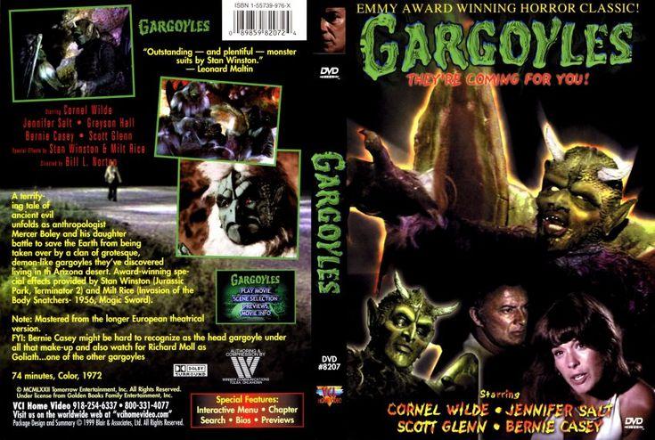 Gargoyles Movie 1972   Gargoyles (1972 live action) - scan - Movie DVD Scanned Covers ...