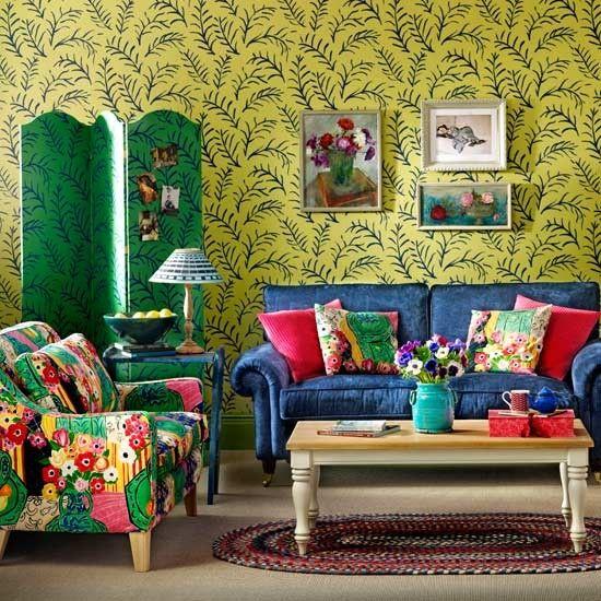 beautiful bohemian decor | bohemian style living room like to imagine living in the bohemian ...
